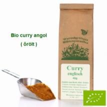 Curry angol őrölt Bio 40 g Wurdies