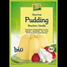 Gourmet bio Bourbon vanília puding 38 g Biovita Naturkost