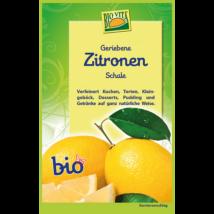 Reszelt bio citromhéj 11 g Biovita Naturkost