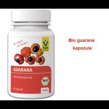 Guarana kapszula 80 db BIO Premium Raab Vitalfood (3 heti adag)