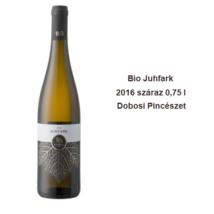 Bio Juhfark száraz fehérbor 0,75 l Dobosi Pincészet 2017