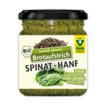 Bio, vegán szendvicskrém spenóttal, kenderrel 140 g Raab Vitalfood