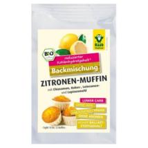 Citromos muffin sütőkeverék Bio (csökkentett szénhidrát tartalom) 160 g Raab Vitalfood