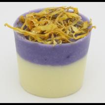 Bio, vegán fürdőkrém pohár, homoktövis illattal 45 g Velvety Manufaktur