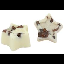 Bio, vegán fürdőkrém csillag, krémes forró csoki illattal 23 g Velvety Manufaktur