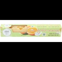 Bio, vegán fürdőkrém rúd, narancs illattal 50 g Velvety Manufaktur