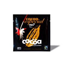 BIO, VEGÁN Forrócsokoládé por (Étcsokoládé) FAIRTRADE, 60 % kakaóval (beckscocoa) 25 g