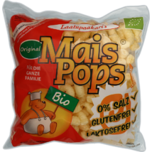 Puffasztott kukorica Bio 65 g Mais Pops