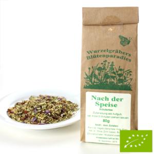 Étkezés utáni Bio teakeverék 80 g Wurdies