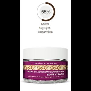 Bőrtónus kiegyenlítő & halványító arckrém 55 % csikanyákkal Bio 50 ml MLLE AGATHE