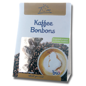Bio kávés cukorka 75 g BIOVITA NATURKOST