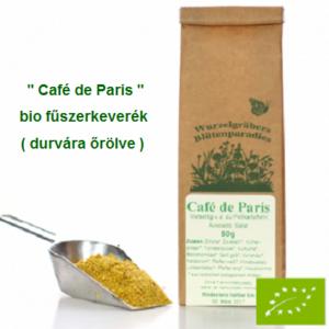 """""""Café de Paris"""" fűszerkeverék, Bio 50 g Wurdies"""