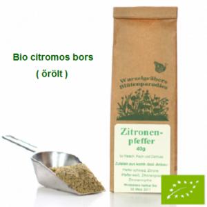 Citromos borskeverék őrölt, Bio 40 g Wurdies
