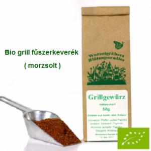 Grill fűszerkeverék Bio 50 g Wurdies
