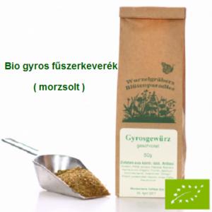 Gyros fűszerkeverék, Bio 50 g Wurdies