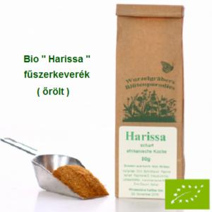 """Harissa"" fűszerkeverék Bio 50 g Wurdies"