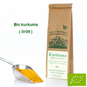 Kurkuma őrölt Bio 40 gr Wurdies