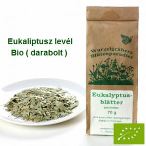 Eukaliptusz levél darabolt Bio 70 g Wurdies