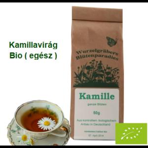 Kamillavirág egész Bio 50 g Wurdies
