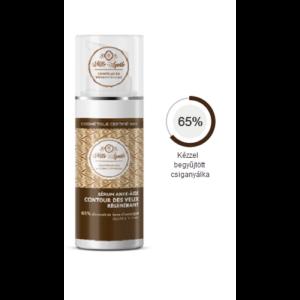 Fiatalító szemkörnyéki szérum, 65 % csiganyálkával BIO 30 ml Mlle Agathe