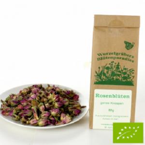 Bio rózsavirág - egész bimbó Bio 50 g Wurdies