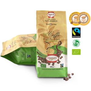 Bio prémium 100 % Arabica szemes kávé,  500 g Morandini caffe, Fairtrade