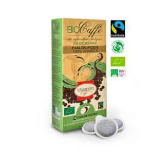 Bio prémium őrölt kávé, 18 db kávépárna, Morandini caffe