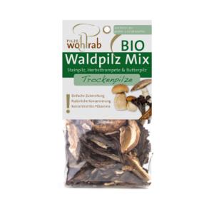 BIO Erdei gombakeverék  szárított 30g Pilze Wohlrab