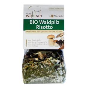 Bio rizottó szárított Erdei gombával 175 g Pilze Wohlrab ( 2 adag )