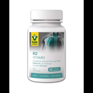 K2-Vitamin szopogató tabletta 50 db Raab Vitalfood