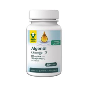 Algaolaj Omega-3 kapszula 30 db Raab Vitalfood (1 havi adag)