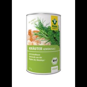 Bio fűszersó gyógynövényekkel, 175 g Raab Vitalfood