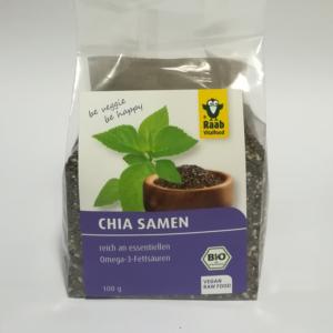Chia mag Bio (aztékzsálya mag) 100g Raab Vitalfood