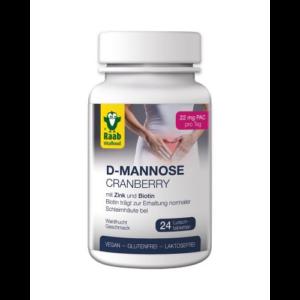D-mannóz-áfonya szopogató tabletta 24 db Raab Vitalfood