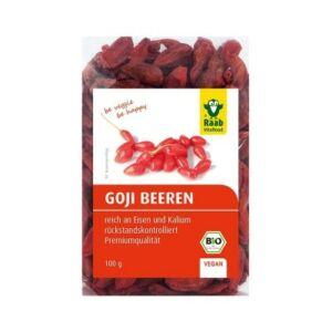 Bio Goji bogyó, Premium 100 g Raab Vitalfood
