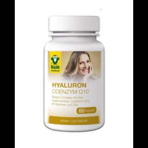 Hyaluron-Coenzym Q10 kapszula 60 db Raab Vitalfood