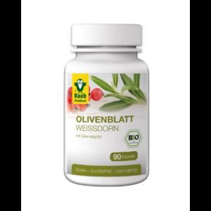 Bio Olívalevél-Galagonya kivonat kapszula 400 mg 90 db Raab Vitalfood