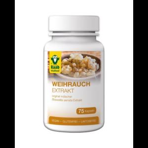 Tömjén kivonat (Boswellia serrata) kapszula 75 db 500 mg Raab Vitalfood