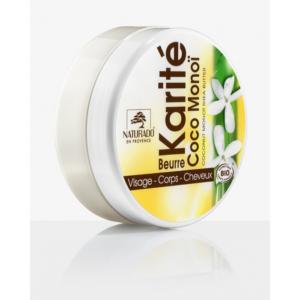 Bőrápoló krém, BIO Monoi olajjal 135 g (150 ml) Naturado