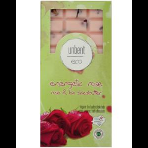Bio, vegán fürdőkrém csokoládé, mezei rózsa illattal 110 g Velvety Manufaktur