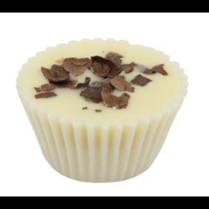 Bio, vegán fürdőkrém praliné, krémes forró csoki illattal 35 g Velvety Manufaktur