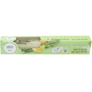 Bio, vegán fürdőkrém rúd, citromfű illattal 50 g Velvety Manufaktur