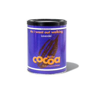 BIO, VEGÁN Forrócsokoládé por levendulával, FAIRTRADE, min. 50 % kakaóval (beckscocoa) 250 g