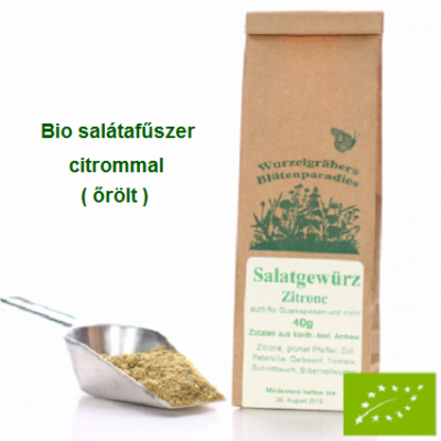 Saláta fűszerkeverék citrommal Bio 40 g Wurdies