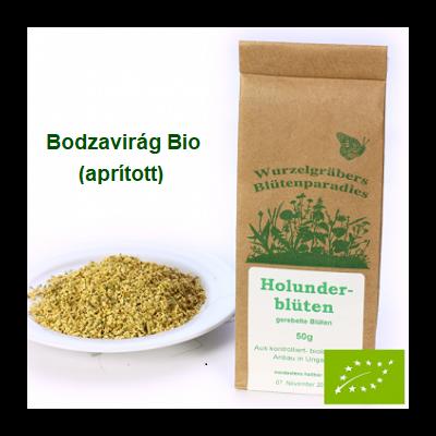 Bodzavirág aprított Bio 50 g Wurdies