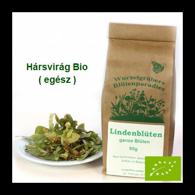 Hársvirág egész Bio 50 g Wurdies