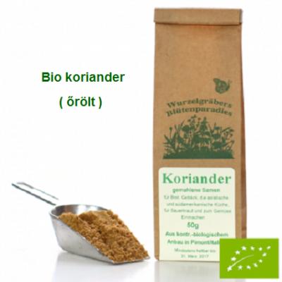 Koriander mag őrölt Bio 50 gr Wurdies