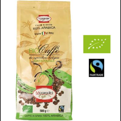 Bio prémium kávé, egész 500 g Morandini caffe, Fairtrade