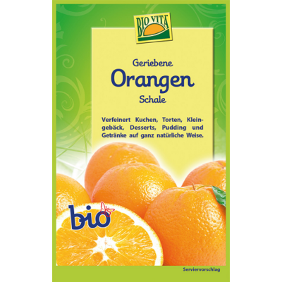 Reszelt bio narancshéj 11 g Biovita Naturkost