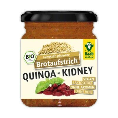 Bio, vegán szendvicskrém quinoa-val, vesebabbal 140 g Raab Vitalfood
